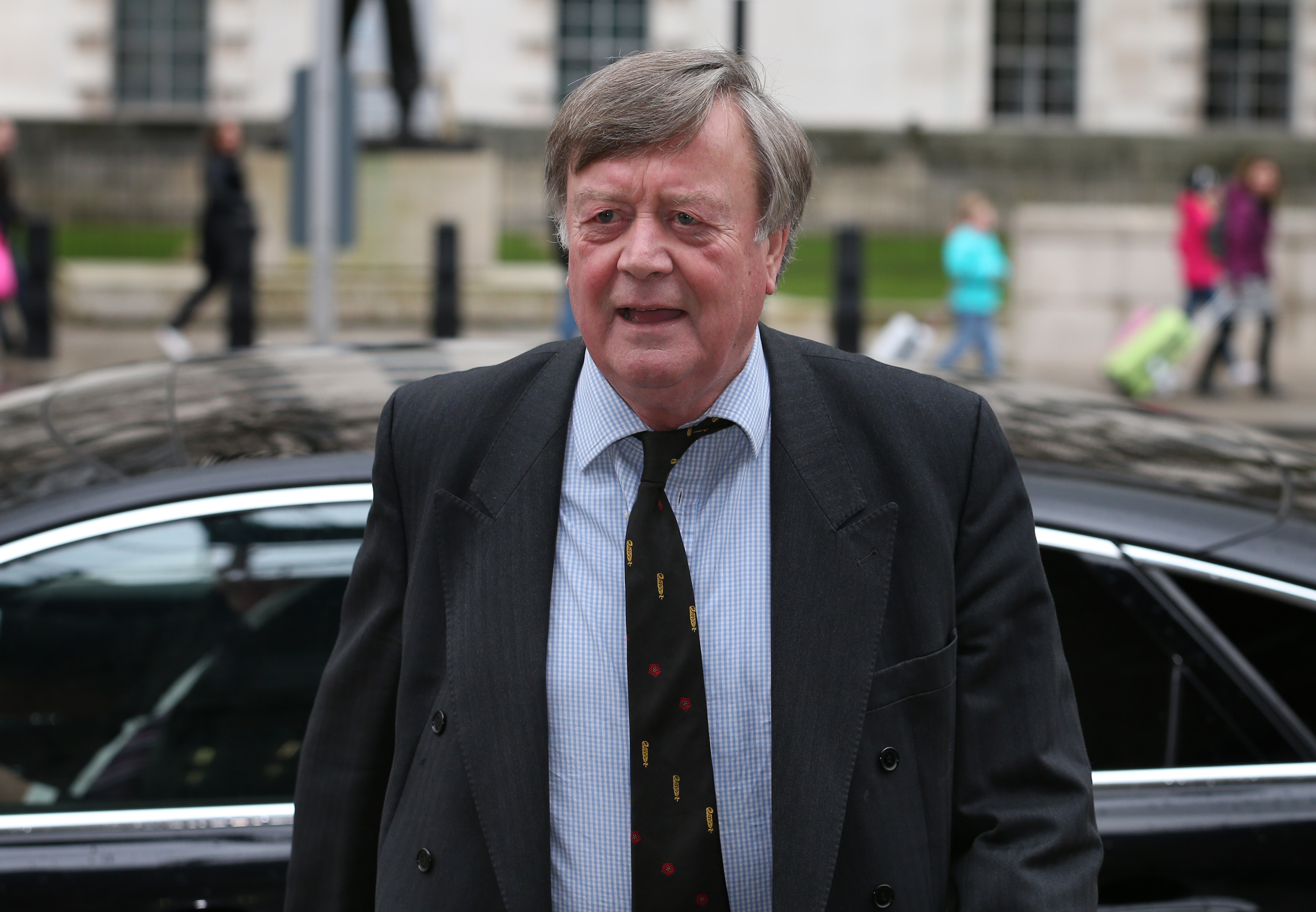 "Ken Clarke says the Tories are ""too right-wing"" to win elections."