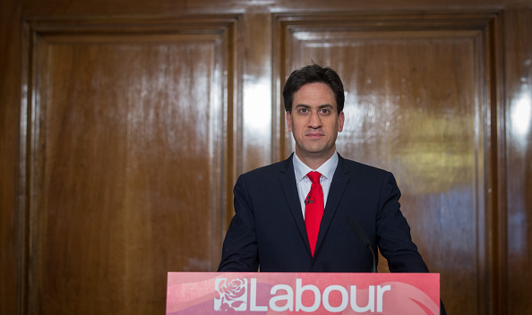 Ed Miliband announces his resignation at the end of a frenetic 24 hours.