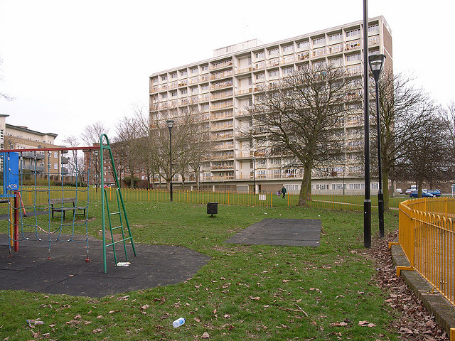 The South Acton estate. Flickr/Steve Cadman